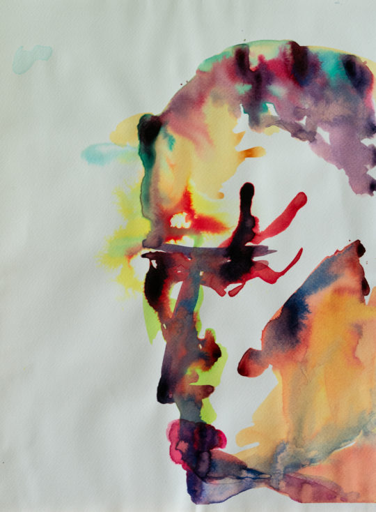 Sans Titre, 2018, encres sur papier, 30 x 42 cm