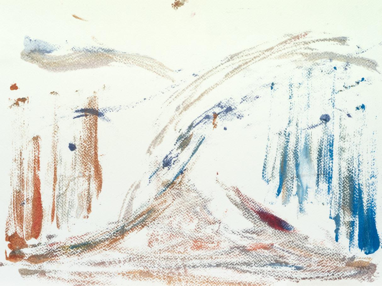 Sans Titre, 2018, Monotype, 30 x 40 cm