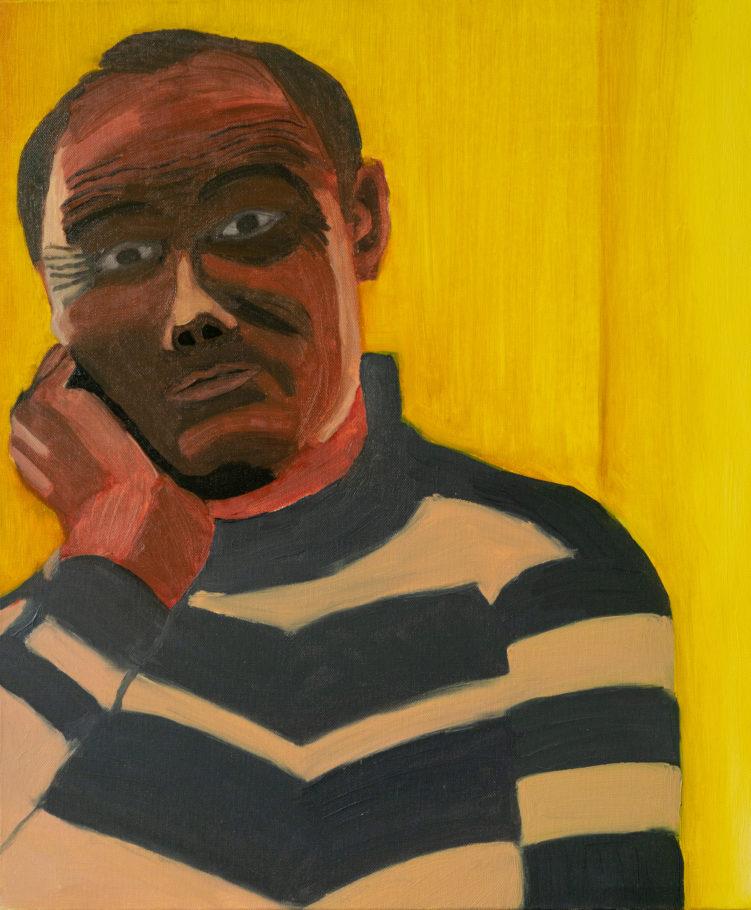 Sans Titre, 2009, huile sur toile, 46 x 55 cm