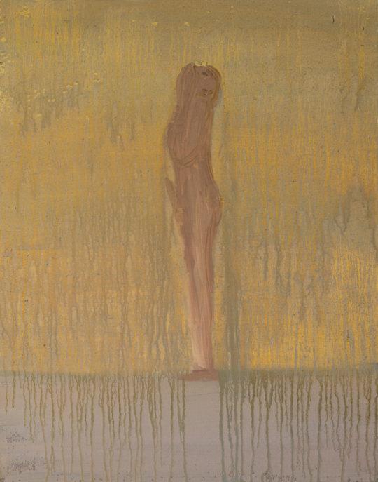Sans Titre, 2008, huile sur toile, 40 x 50 cm