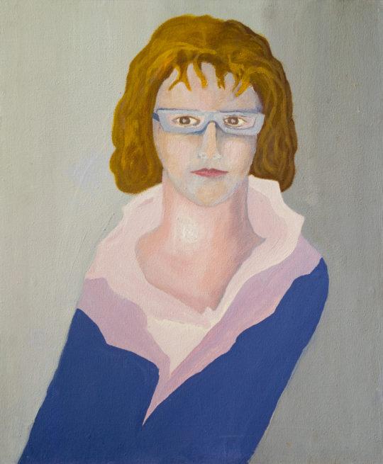 Sans Titre, 2012, pigments sur carton, 42 x 50 cm